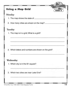 Daily Geography Practice 2 Workbook