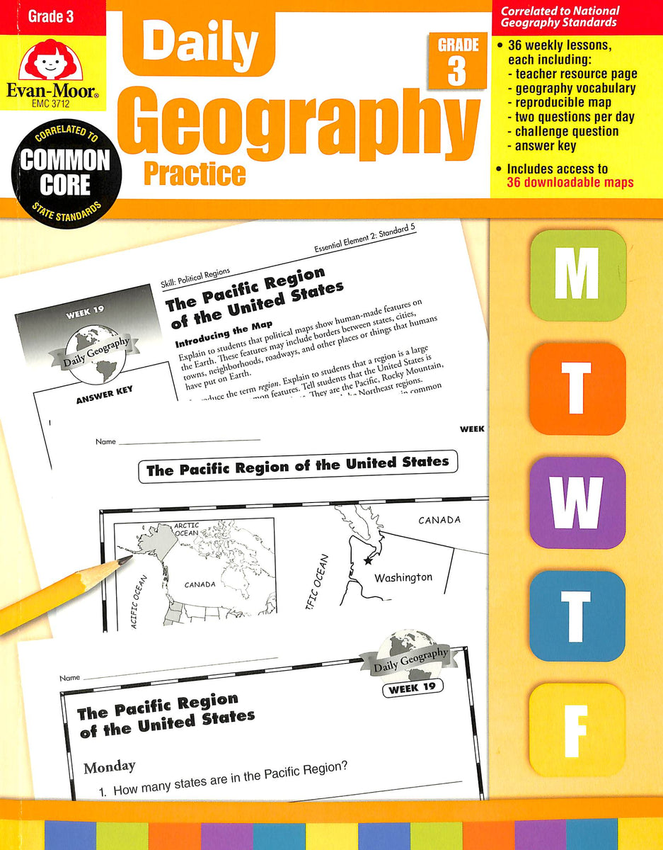 Daily Geography Practice 3 Teacher Manual