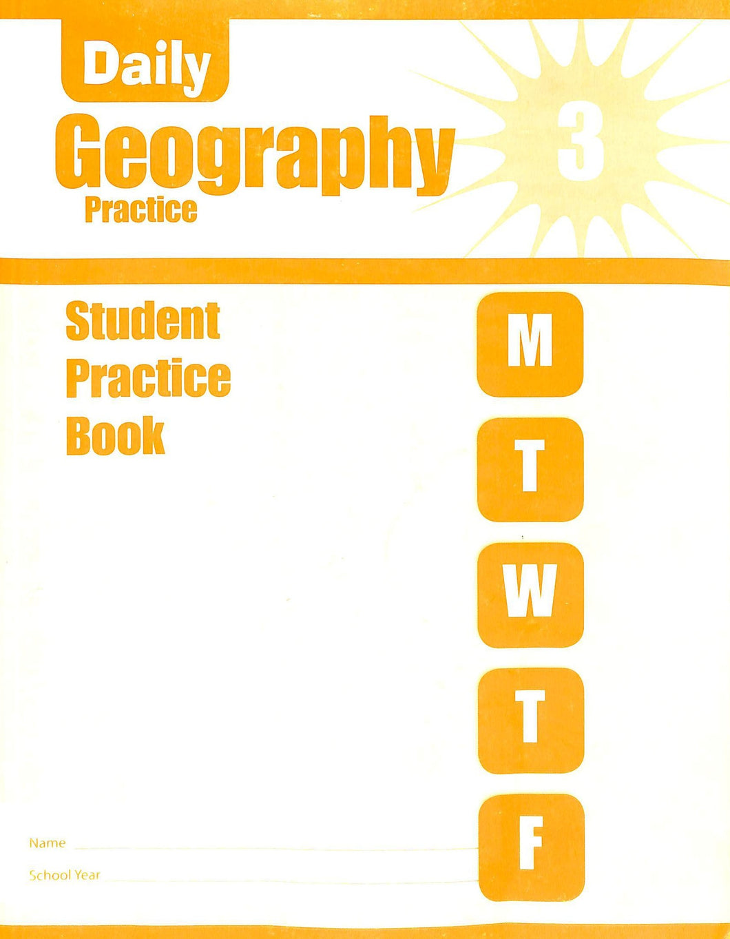 Daily Geography Practice 3 Workbook