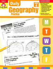 Load image into Gallery viewer, Evan-moor Daily Geography Practice 4 Teacher Manual