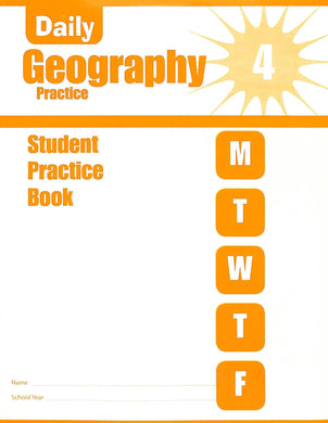 Daily Geography Practice 4 Workbook