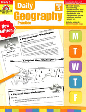Load image into Gallery viewer, Evan-moor Daily Geography Practice 5 Teacher Manual