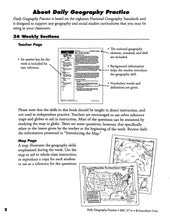 Load image into Gallery viewer, Daily Geography Practice 5 Teacher Manual