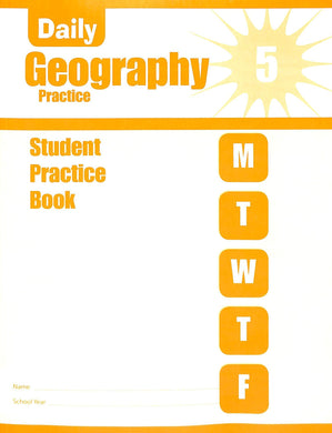 Evan-moor Daily Geography Practice 5 Workbook