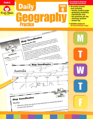 Daily Geography Practice 6 Teacher Manual