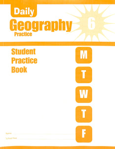 Daily Geography Practice 6 Workbook