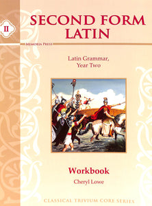 Second Form Latin Workbook
