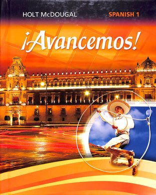 Avancemos! Spanish 1 Online Access 1 Year License