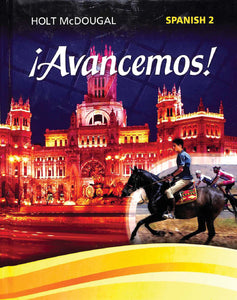 Avancemos! Spanish 2 Online Access 1 Year License
