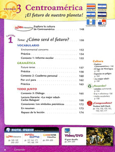 Avancemos! Spanish 3 Textbook