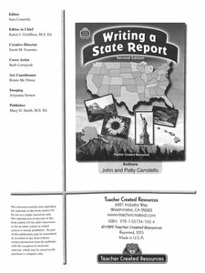 Writing a State Report
