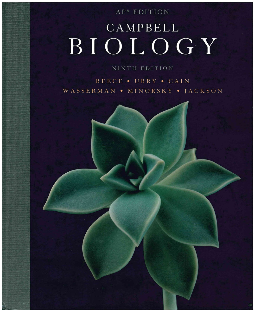 Campbell's AP Biology Textbook - Gently Used