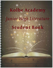 Load image into Gallery viewer, Junior High Literature Workbook Study Guide And Glossary