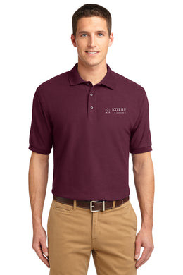 Adult Polo - Burgundy