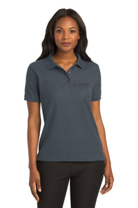 Ladies Polo - Steel Grey