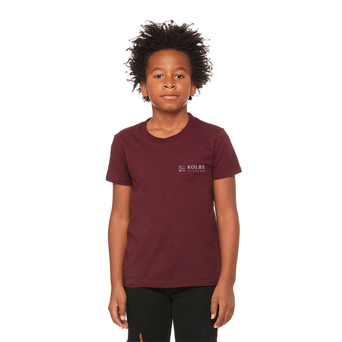Youth Tee Shirt - Maroon