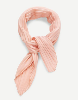 Blush Silky Head Scarf