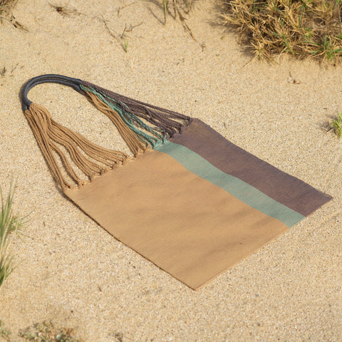Las Rayas Tote - Heather / Dune