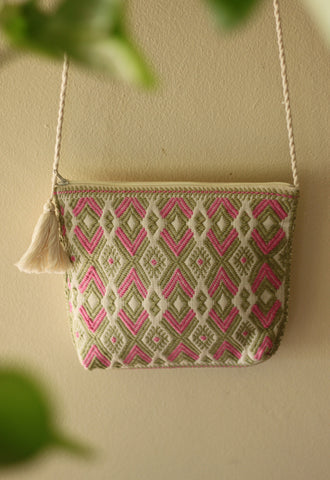 Handwoven Crossbody Purse