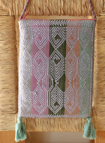 Handwoven Pouch with Strap