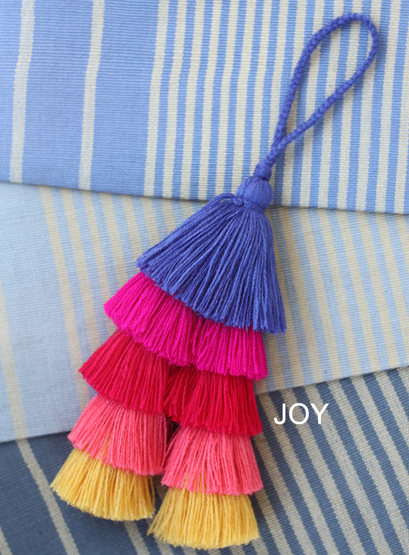 Multi Colour Tassels