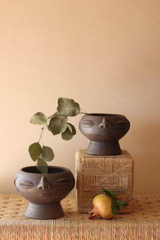 Atzompa Pot - 2 Sizes