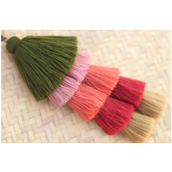 NEW - Multi Colour Tassel - Bugambilia