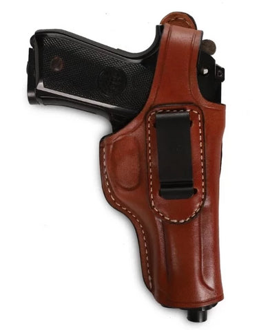Beretta Series 92 FS Leather IWB Holster, Pusat Holster