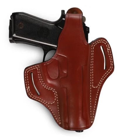 Beretta Series 92 Leather OWB Holster, Pusat Holster