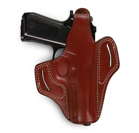 Beretta Series 92 FS Leather OWB Holster, Pusat Holster