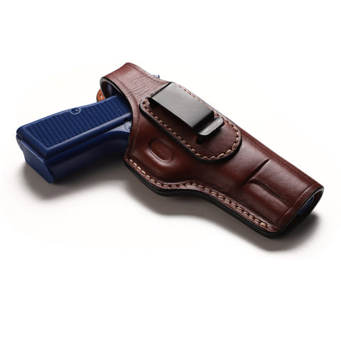Browning Hi Power Leather IWB Concealed Carry Holster, Pusat Holster