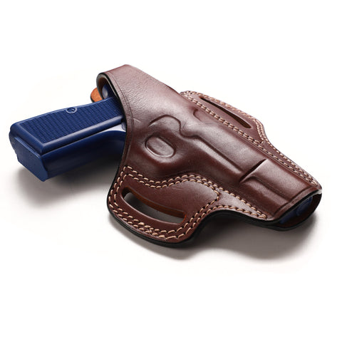 Browning Hi Power Leather OWB Holster, Pusat Holster