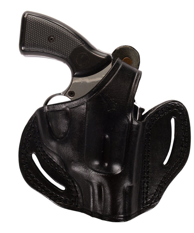 Charter Arms Bulldog 44 SP Leather OWB 2.5 Holster, Pusat Holster