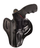 "Charter Arms Target Bulldog Leather OWB 4"" Holster, Pusat Holster"