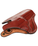 Charter Arms Target Bulldog Leather OWB 4 Holster, Pusat Holster