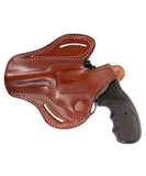 Charter Arms Target Mag Pug Leather OWB 4 Holster, Pusat Holster
