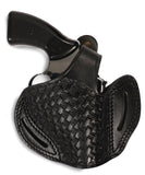 Charter Arms 357/38 Leather Basket Weave OWB 2 Holster, Pusat Holster