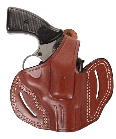 Colt Diamondback 38 Special Leather OWB 2.5 Holster, Pusat Holster