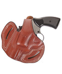 Colt King Cobra 357 Magnum Leather OWB 2.5 Holster, Pusat Holster