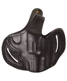 Colt Lawman MK III 357 MAG Leather OWB 2 Holster - Pusat Holster