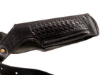 CZ 1911 Leather Basket Weave Holster, Pusat Holster