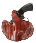 EAA Windicator 357 MAG/38 SP Leather OWB 2 Holster, Pusat Holster
