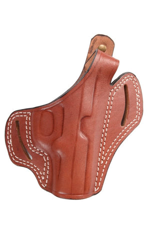 Beretta 84-84 FS Cheetah Leather OWB Holster, Pusat Holster