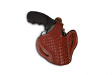 Rossi Series 357/38 Leather Basketweave OWB Holster - Pusat Holster
