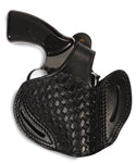 Rossi Series 357/38 Leather Basketweave OWB Holster, Pusat Holster