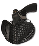 Taurus 357/38 Leather BasketWeave OWB Holster, Pusat Holster