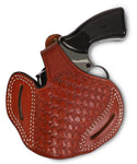 Taurus 357/38 Leather BasketWeave OWB Holster - Pusat Holster