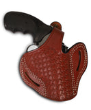 Charter Arms 357/38 Leather Basket Weave OWB 2.5 Holster - Pusat Holster