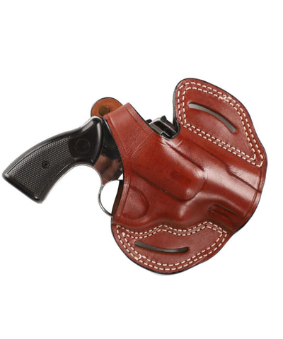 Rossi Model 351 Revolver 38 SP Leather OWB 2 Holster - Pusat Holster