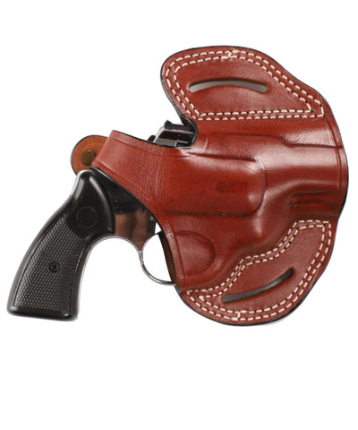 Rossi Model 687 Revolver 38 SP Leather OWB 2 Holster - Pusat Holster